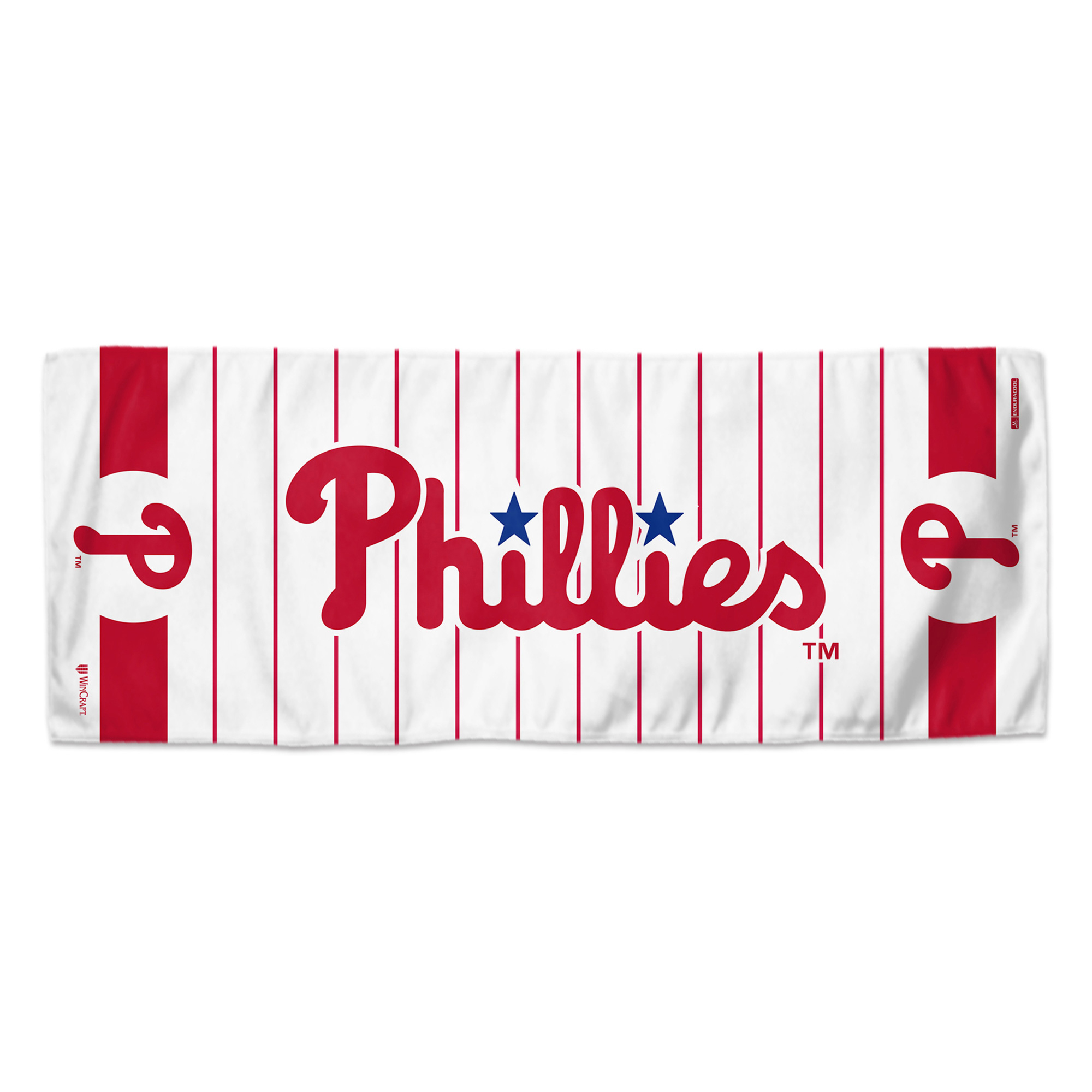 """Philadelphia Phillies WinCraft 12"""" x 30"""" Double-Sided Cooling Towel - No Size"""