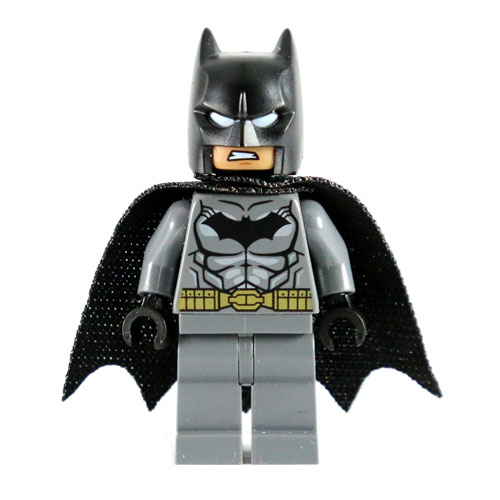 LEGO Minifigure - DC Comics Super Heroes - BATMAN with Cape (Gold Belt)