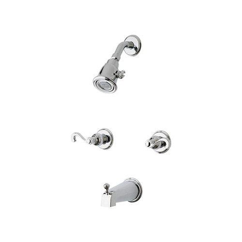 Bundle-95 Price Pfister Savannah 03 Series Dual Control Tub and Shower Faucet (2 Pieces)