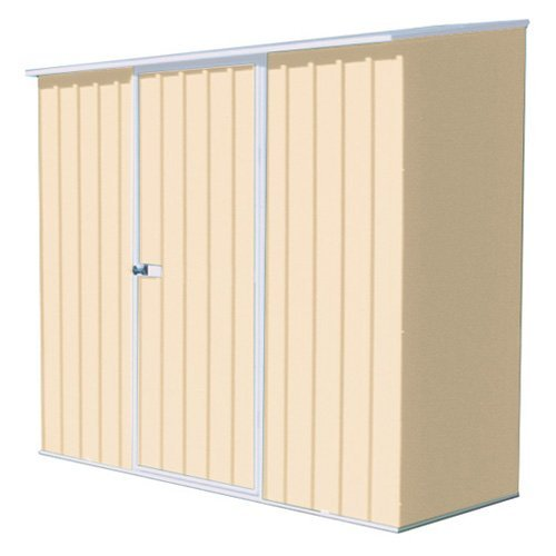 ABSCO Spacesaver 7 x 3 Tool Shed - Classic Cream