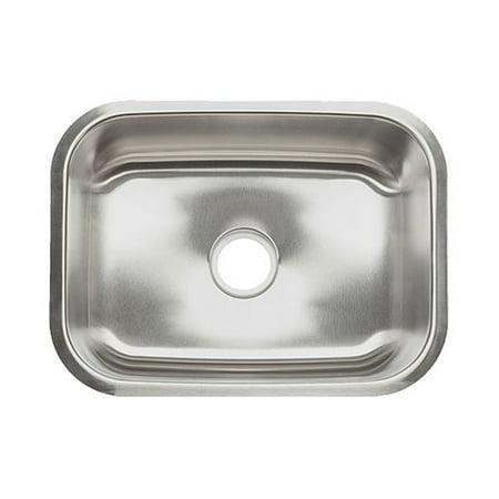 Clark 23'' L x 17.5'' W Single Bowl Undermount Kitchen Sink