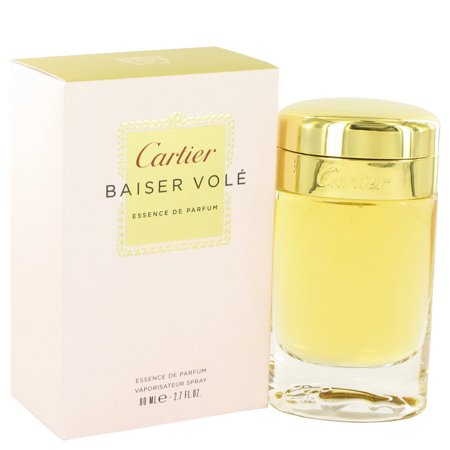 Cartier Baiser Vole for Women Essence de Parfum Spray, 2.7 fl oz
