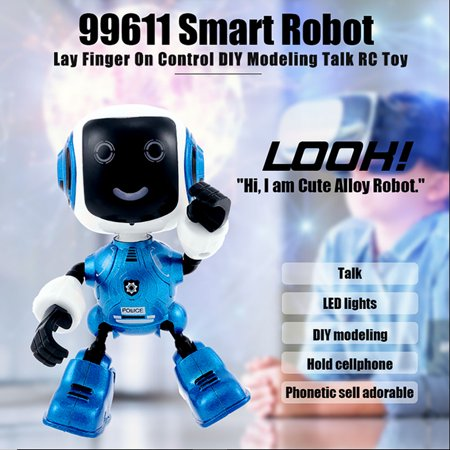 99611 Smart Robot hand Control DIY Modeling Talk RC Toy Phone Holder Gift for