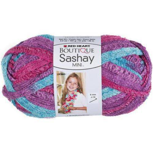 Red Heart Boutique Sashay Mini Yarn, Available in Multiple Colors