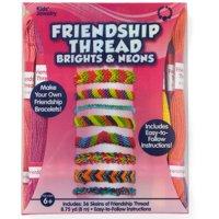 Kids Craft Neon Colors Friendship Thread, 1 Each