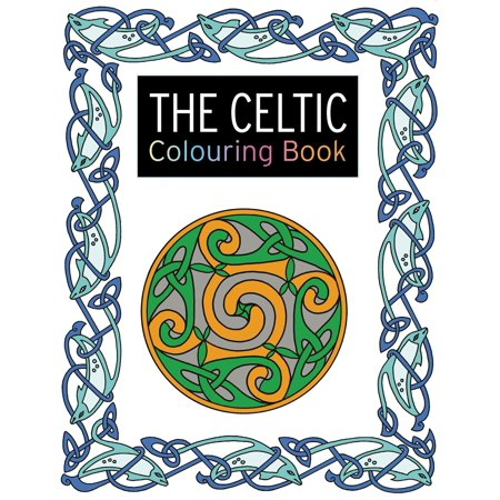 Celtic Art Blank Book (The Celtic Colouring Book : Large and Small Projects to Enjoy)