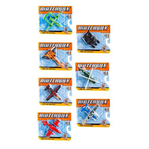 Matchbox(R) Skybusters Airplanes