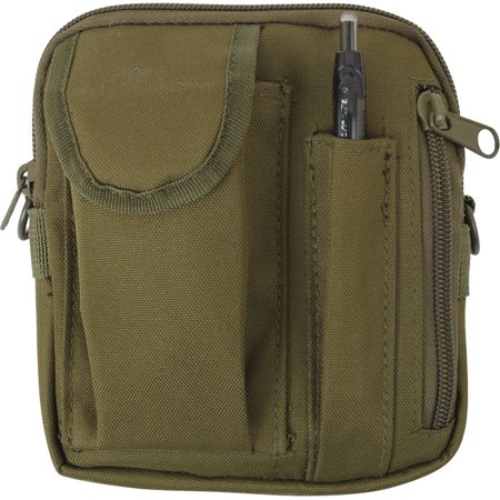 Olive Drab - Tactical MOLLE Military Excursion Organizer Shoulder Bag