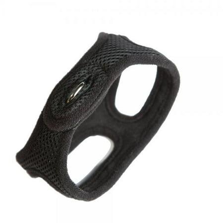 Chokefree Velpro Mesh Pet Shoulder Harness Collar  16  Black