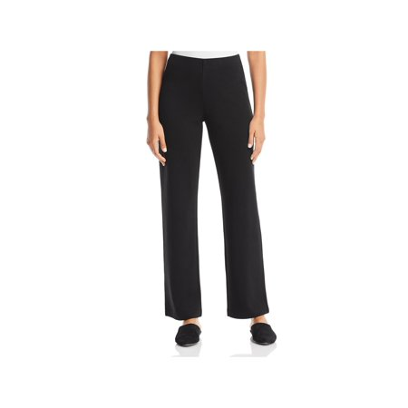 - Eileen Fisher Womens Petites Tencel High Rise Straight Leg Pants