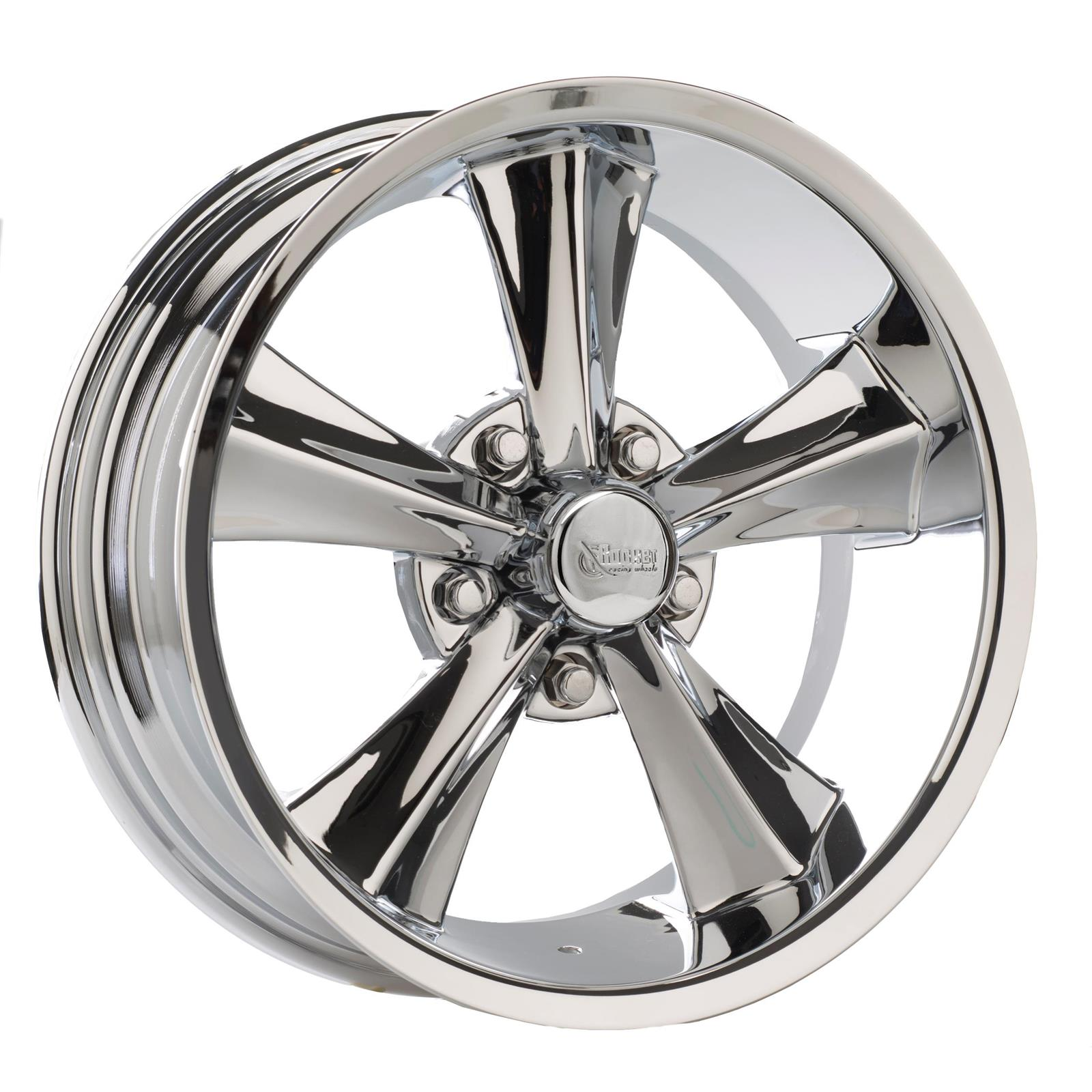 Rocket Racing R14-776542 Booster  17x7 Wheel, 5x4-1/2, 4-1/4 BS