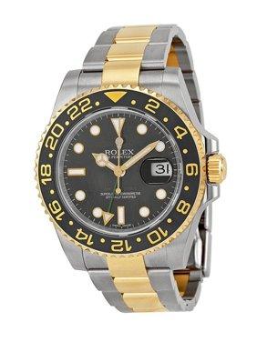 Rolex GMT-Master II 116713LN Steel & 18K Yellow Gold Automatic Men's Watch