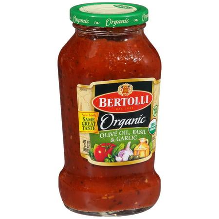 Bionaturae Organic Pasta - (3 Pack) Bertolli Organic Traditional Tomato & Basil Pasta Sauce 24 oz.