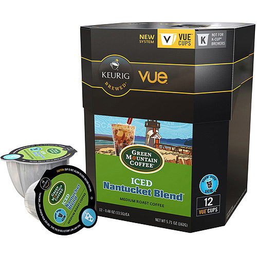 Nantucket Blend Iced Coffee Vue Packs GMT9305