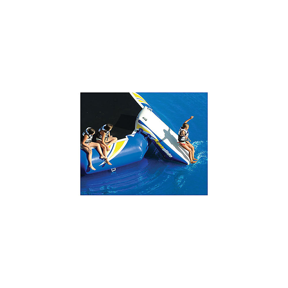 Click here to buy Aquaglide Platinum Rebound 16 Bouncer Slide Water Trampoline Attachment by Aquaglide.