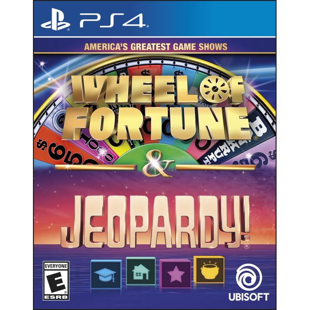 Jeopardy Wheel Of Fortune Compilation Ubisoft Playstation 4