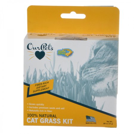 Kitty Grass (OurPets Cosmic Catnip Kitty Cat Grass 0.88 oz - Pack of 2 )