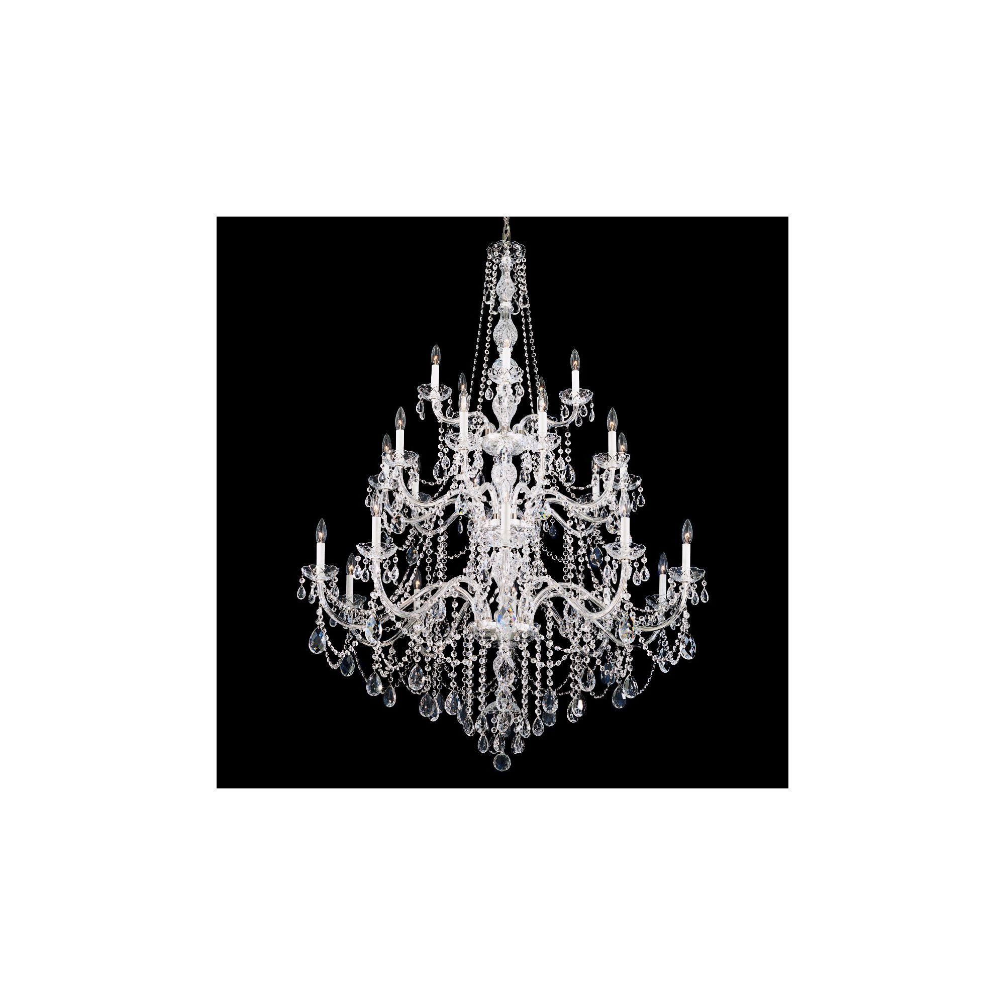 Schonbek Arlington Collection 25-Light Crystal Chandelier by Schonbek