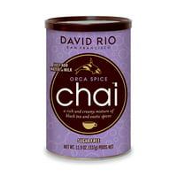 David Rio Orca Spice Sugar-Free Chai, Powdered Tea, 11.9 Oz
