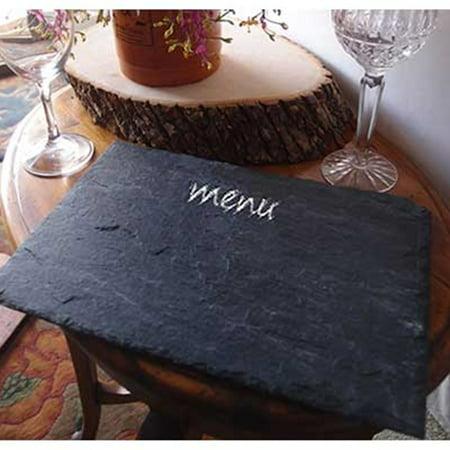 Table Decor Rectangular Slate Blackboard Chalkboard Sign Display 8 x 12 inches](Chalkboard Decor)