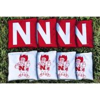 Nebraska Cornhuskers College Vault Replacement Corn-Filled Cornhole Bag Set - No Size