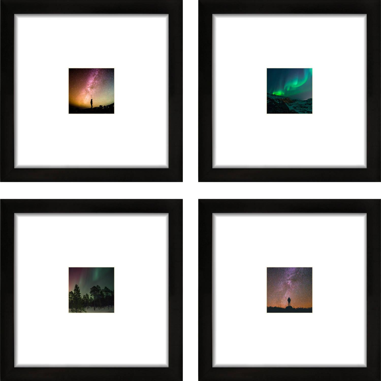 Craig Frames 12x12 Black Picture Frame Smartphone