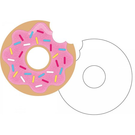 Donut Party Invitations (Creative Converting Donut Time Invitation Postcard, 8)