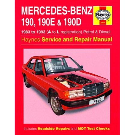 Mercedes-Benz 190 Service and Repair Manual (Haynes Service and Repair Manuals) (Paperback) (Mercedes 300td Service Manual)