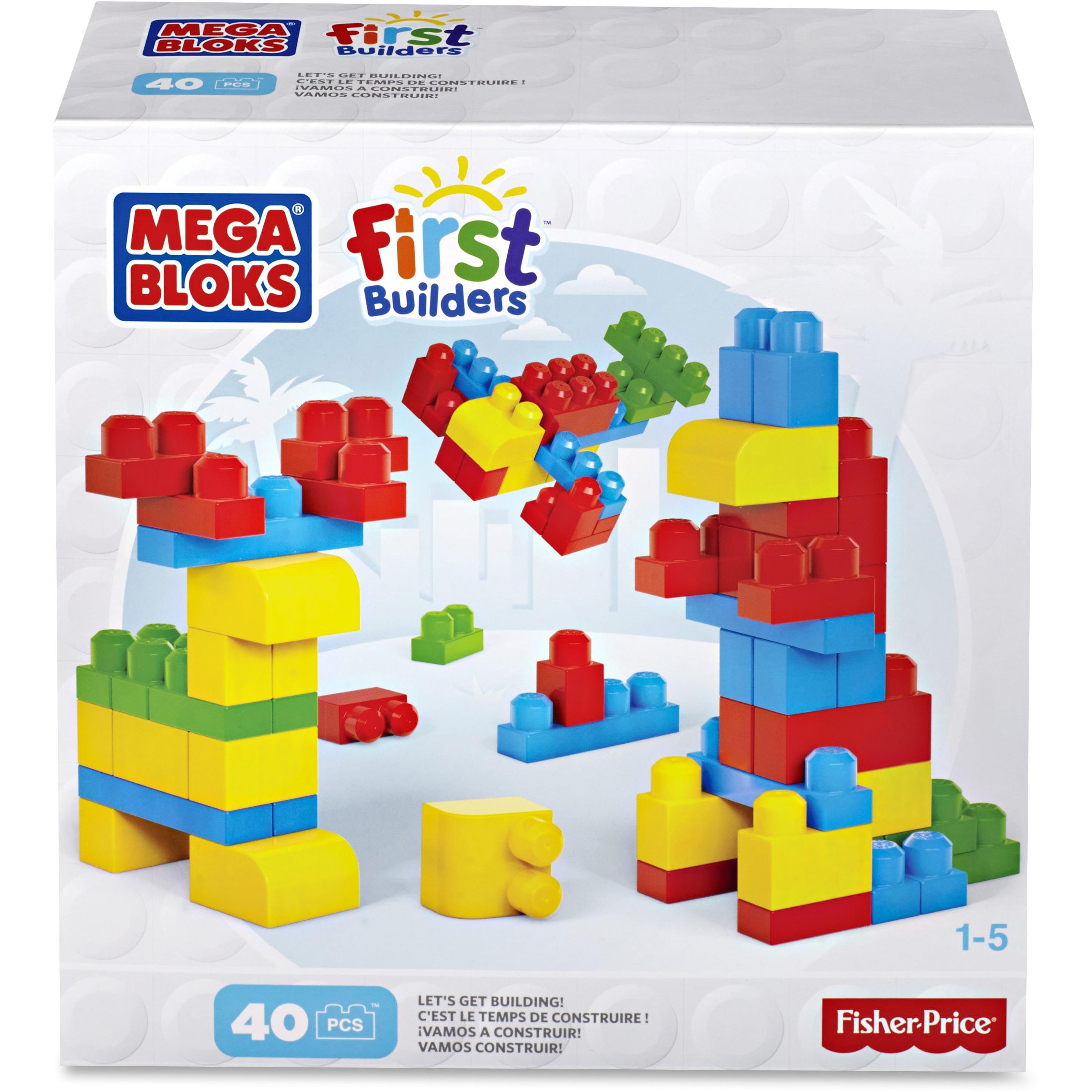 Mega Bloks First Builders Let's Get Building Set
