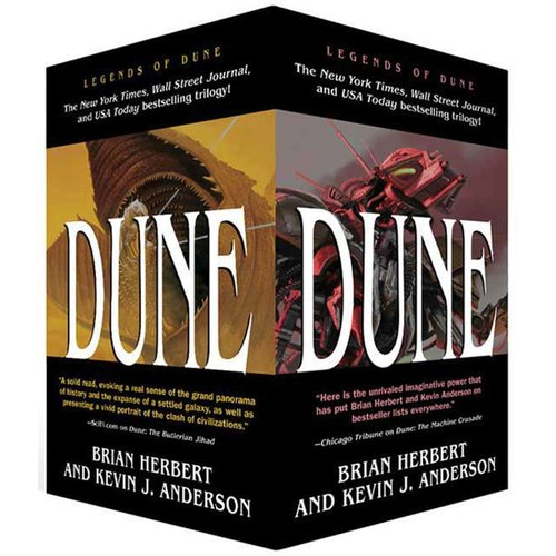 Legends of Dune: The Battle of Corrin / the Butlerian Jihad / the Machine Crusade