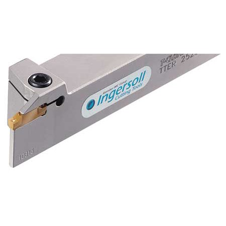 INGERSOLL CUTTING TOOL TTER19-3 Part/Groove/Turn Holder, TTER19-3 - Ingersoll Cutting Tool