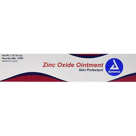 Zinc Oxide Paste (Dynarex Zinc Oxide Skin Protectant Ointment, 3 Count )
