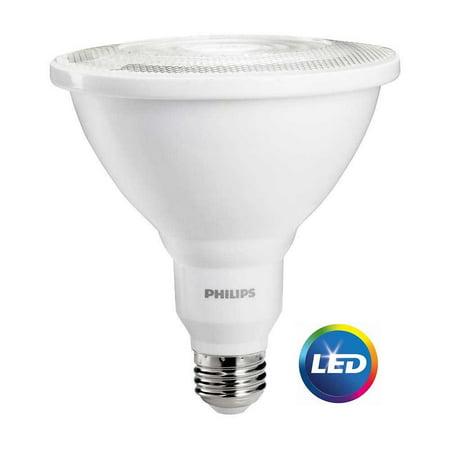 Philips Led Dimmable Flood Light Bulb Par38 Bright White 100 We