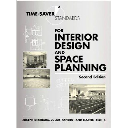 Time-Saver Standards for Interior Design and Space Planning, Second