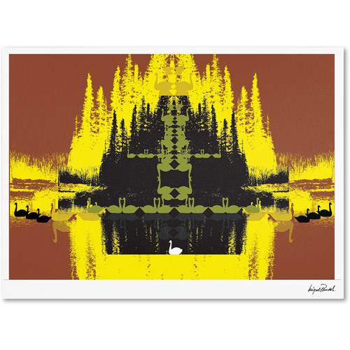 "Trademark Fine Art ""Yellow Trees"" Canvas Art by Miguel Paredes"