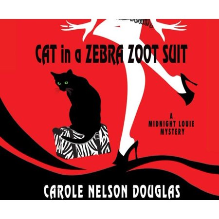 3 Piece Zoot Suit - Cat in a Zebra Zoot Suit