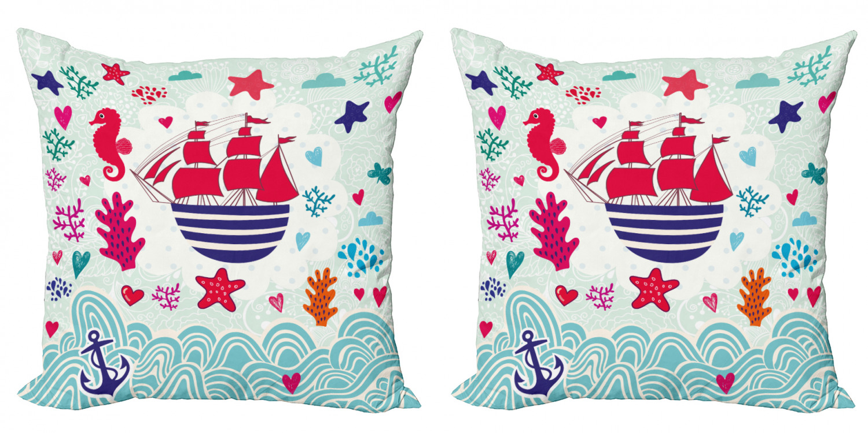 Sweet Bottom cushion seat cushion 40 cm sailboat anchor Maritim