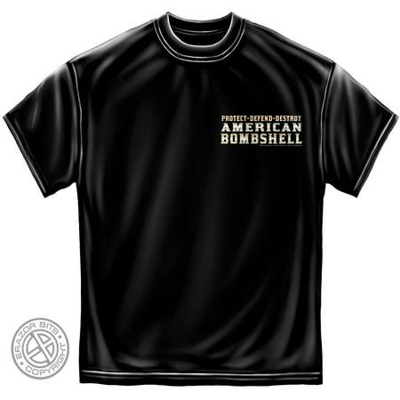 Erazor Bits Cotton American Bombshell T Shirt