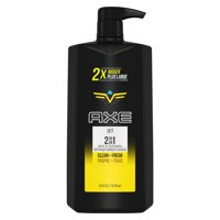 AXE 2 in 1 Body Wash and Shampoo for Men Jet 32 oz