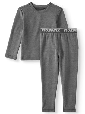 Russell Toddler Boys Mid-Weight Performance Baselayer Thermal Top & Pants, 2pc Set (Toddler Boys)