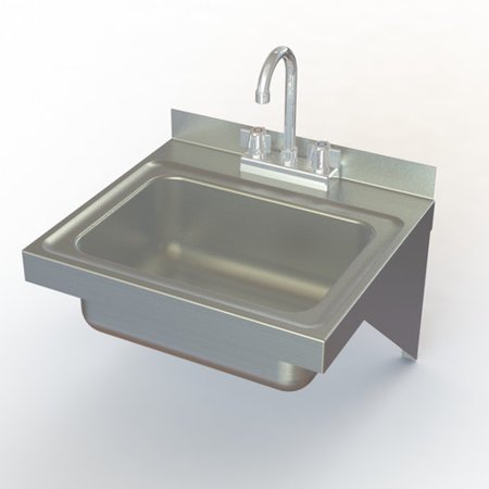 Aero Manufacturing Nsf 17 X 15 Single Electronic Hand Sink With Faucet