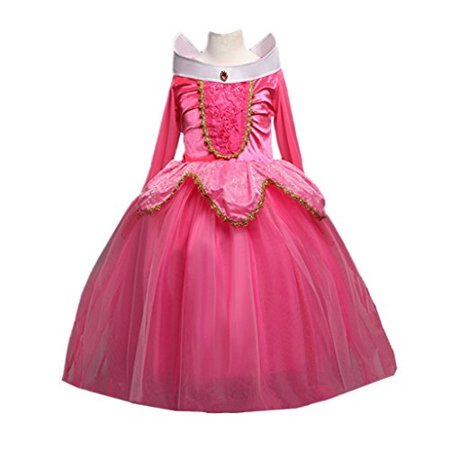 dreamhigh sleeping beauty princess aurora party girls costume dress size 3-4 years - Sleeping Costume