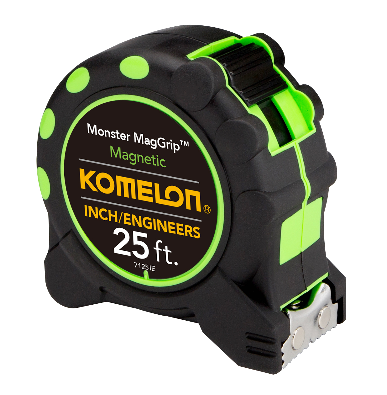Komelon 25ft Monster MagGrip (Inch/Engineer) Tape Measure