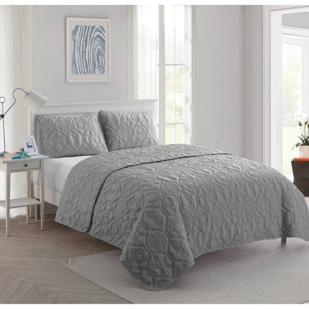 VCNY Home Plush Shore Life Full/Queen Quilt Set ()