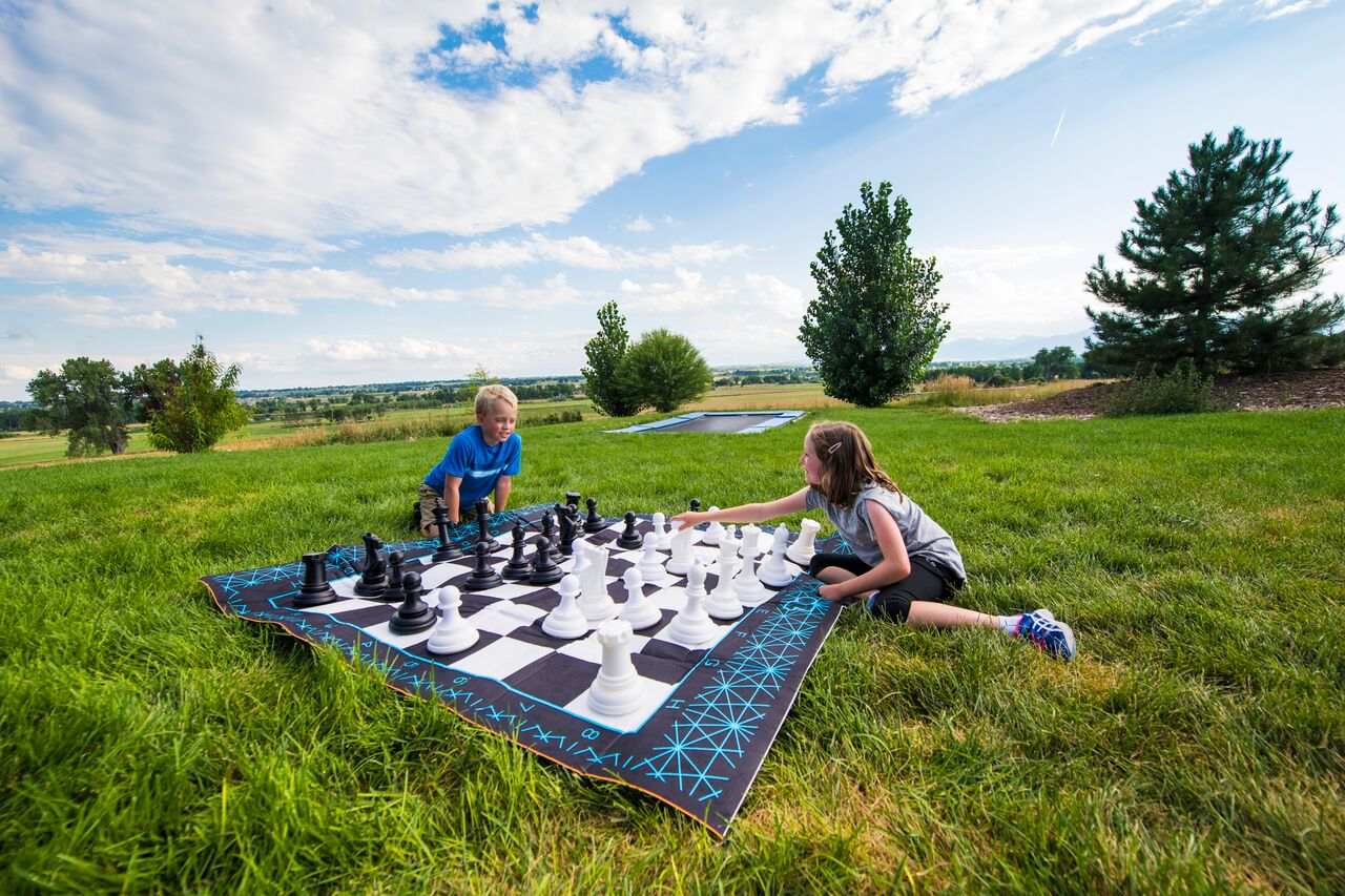 Jumbo 2 in 1 oversized game set with Chess and Checkers by b4 Adventure by b4 Adventure