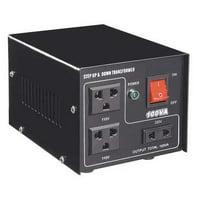 ZORO SELECT 30C517 Step Up/Down Voltage Converter, 300VA