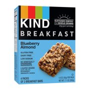 KIND Breakfast Bars 4 ct, Blueberry Almond, Gluten Free