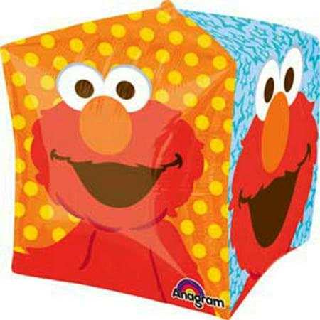 Elmo Sesame Street Ultra Shape Cubez Balloon 15