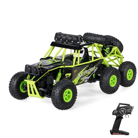 Wltoys 18628 1/18 2.4G 6WD Electric Off-Road Rock Crawler Climbing RC Buggy Car RTR