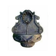 Lady Bug 88104WI Tuscany Wall Fountain - Wrought Iron Finish
